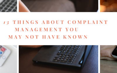 13 Things About Complaint Management You May Not Have Known