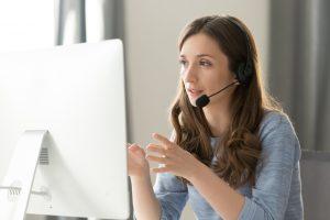 serious-call-center-operator-wireless-headset